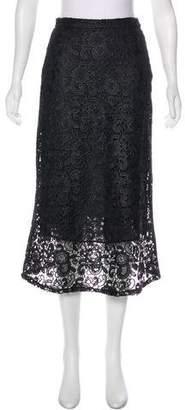 A.L.C. Lace Midi Skirt