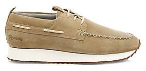 Grenson Men's Sneaker 15 Suede Wedge Topsiders