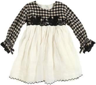 Reversible Wool Flannel & Cotton Dress