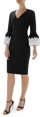 Ted Baker Rastrel Bell Sleeve Dress