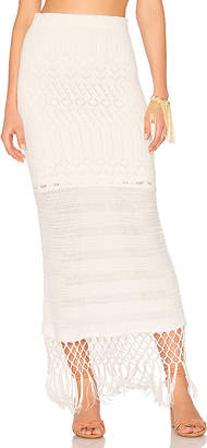 House of Harlow 1960 X REVOLVE Sandra Skirt in White $168 thestylecure.com