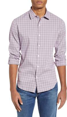 Bonobos Slim Fit Glen Plaid Performance Sport Shirt