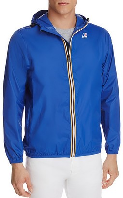 K-Way Zip Windbreaker Jacket $59 thestylecure.com