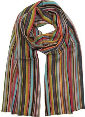 Paul Smith Wool Blend Stripe Men's Long Scarf