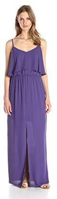 Lark & Ro Women's Tiered Maxi Dress