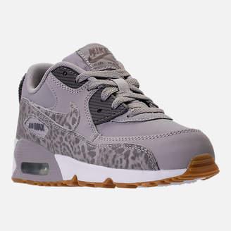 Nike Girls' Preschool 90 SE Leather Running Shoes