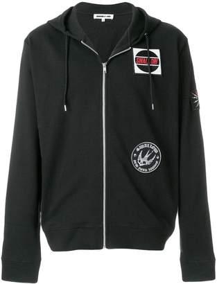 McQ logo patch hoodie