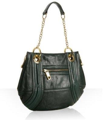 Rebecca Minkoff forest green leather 'Ollie' shoulder bag