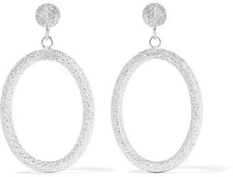 Carolina Bucci Gypsy 18-karat White Gold Earrings