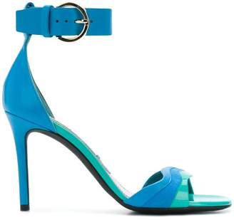 Emilio Pucci strappy colour-block sandals