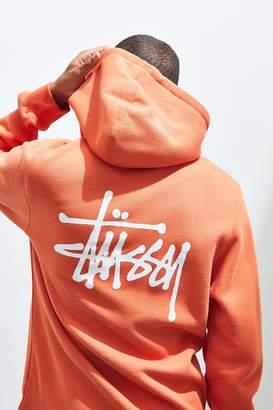 Stussy Basic Zip-Up Hoodie Sweatshirt