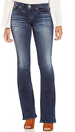 Big StarBig Star Traditional Remy Whiskered Faded Bootcut Jeans