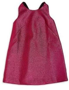 Milly Minis Girl's Bow Back Shift Dress