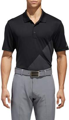 adidas GOLF 3-Stripes Regular Fit Golf Polo