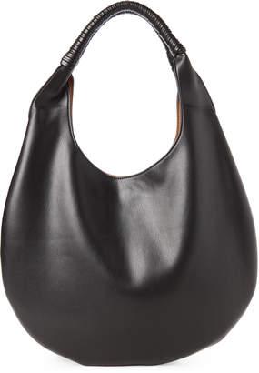 Street Level Black Faux Leather Hobo