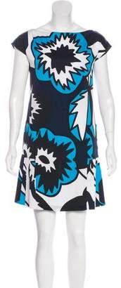 Diane von Furstenberg Cade Silk Mini Dress