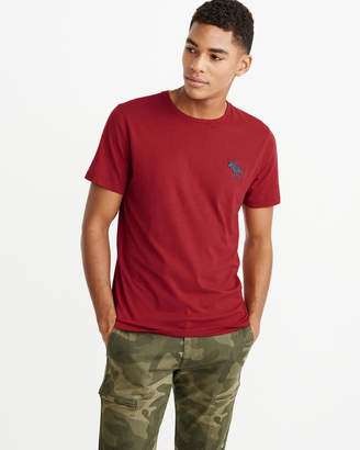 Abercrombie & Fitch Exploded Icon Crew Tee