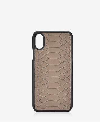 GiGi New York Iphone X Hard-Shell Case In Stone Embossed Python