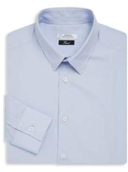 Versace Button-Front Dress Shirt