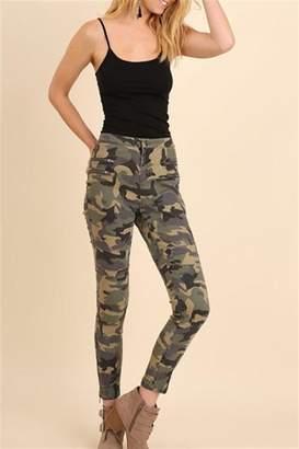 Umgee USA Camo Zipper Pants