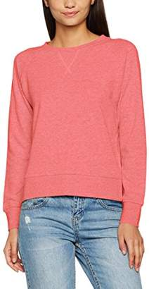 Only Women's onlLOTUS LS O-Neck NOOS Sweatshirt, Off-White (Oatmeal), (Manufacturer Size: X-)
