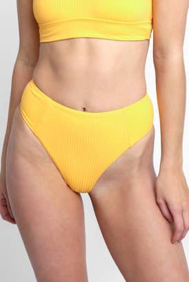 Vitamin A Sunflower Sienna High Waist Bikini Bottom