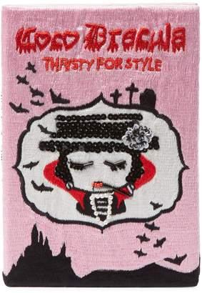 Mua Mua Dolls Women's Coco Dracula Book Clutch