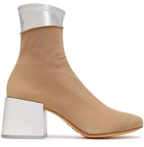 MM6 MAISON MARGIELA Stretch-knit Ankle Boots