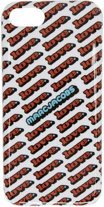 Marc Jacobs White Love iPhone 8 Case