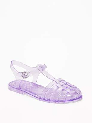 Old Navy Jelly Fisherman Sandals for Girls