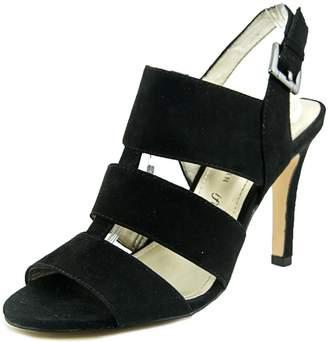 Anne Klein AK Ironnia Women US 7.5 Black Slingback Sandal