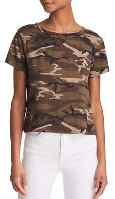 Honey Punch Nice Day Camo Tee