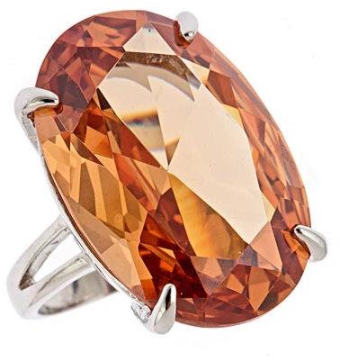 Blu Bijoux Large Crystal Ring