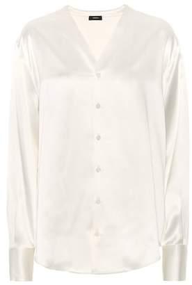 Joseph Silk satin blouse