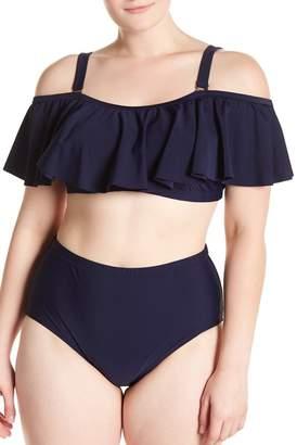 Tortuga Raisins Curve Bandeau Bikini Top (Plus Size)