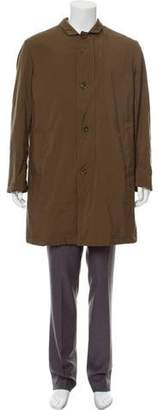 Loro Piana Cashmere Lined Overcoat
