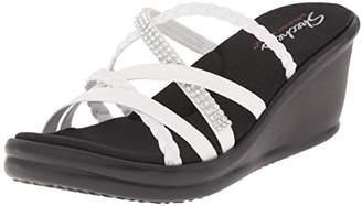 Skechers Cali Women's Rumbers-Wild Child Wedge Sandal