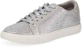 Kenneth Cole Kam Shine Crystal-Embellished Sneakers