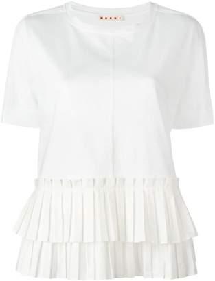 Marni pleated T-shirt