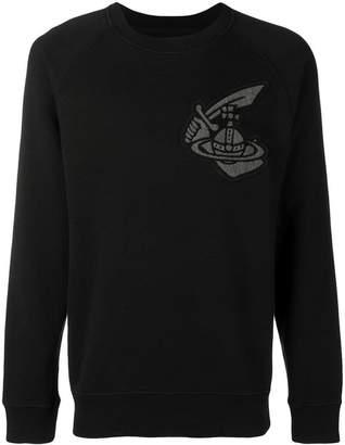 Vivienne Westwood logo patch sweatshirt