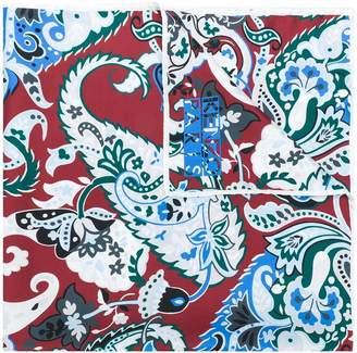 Kenzo paisley print scarf