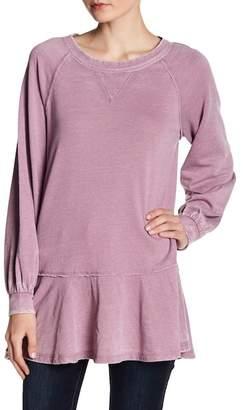 Melrose and Market Fleece Peplum Hem Tunic (Regular and Petite)