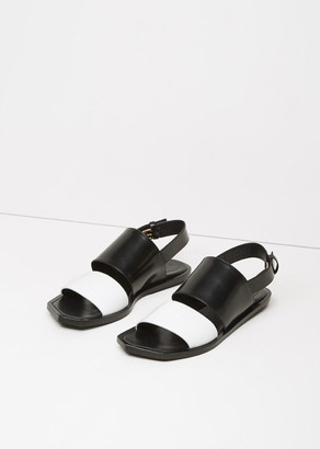 Marni Bi-Color Flat Sandal $770 thestylecure.com
