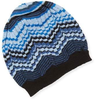 Missoni Women's Cut-Out Crochet Hat