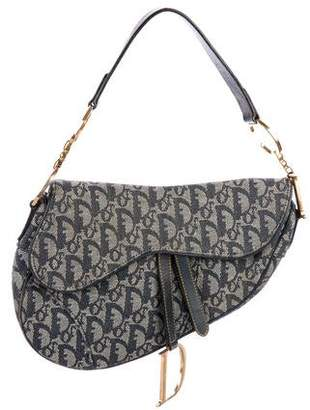 a5fc8a266597 Christian Dior Diorissimo Saddle Bag