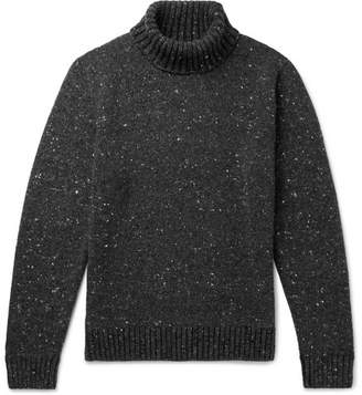 Inis Meáin Donegal Merino Wool And Cashmere-Blend Rollneck Sweater
