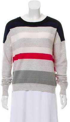 Diane von Furstenberg Striped Cashmere Sweater