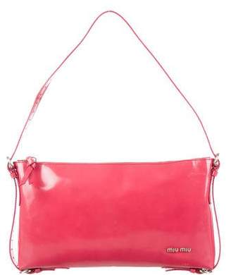 Miu Miu Glazed Leather Bag