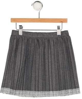 Il Gufo Girls' Pleated Skirt