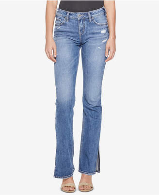 Silver Jeans Co. Avery High-Rise Curvy Slim Bootcut Jeans